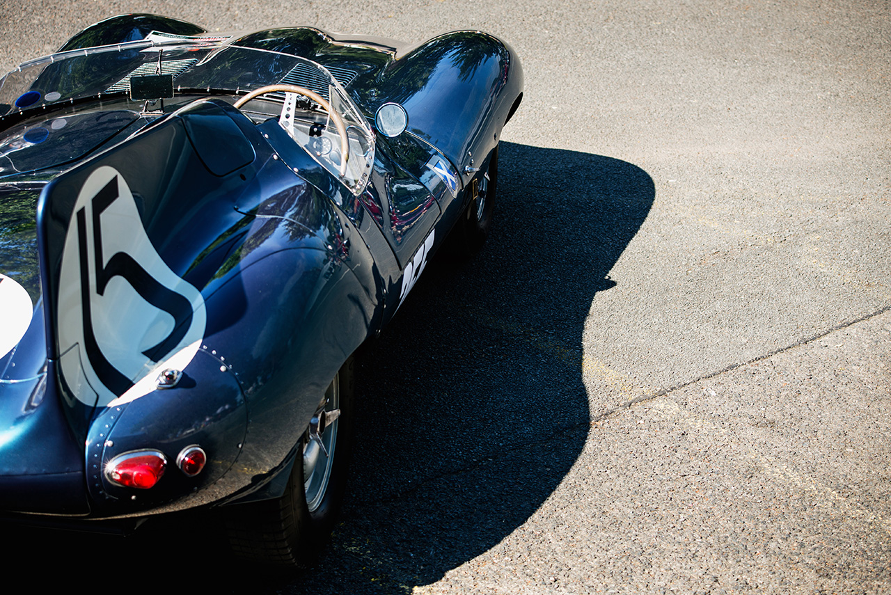 1956 Ecurie Ecosse Long Nose Jaguar D-Type