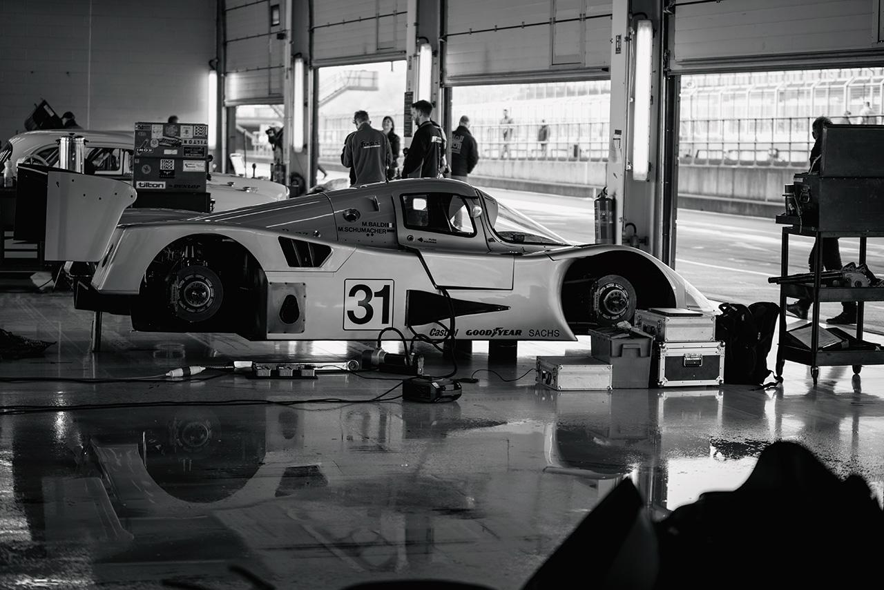 1987 Sauber Mercedes C11