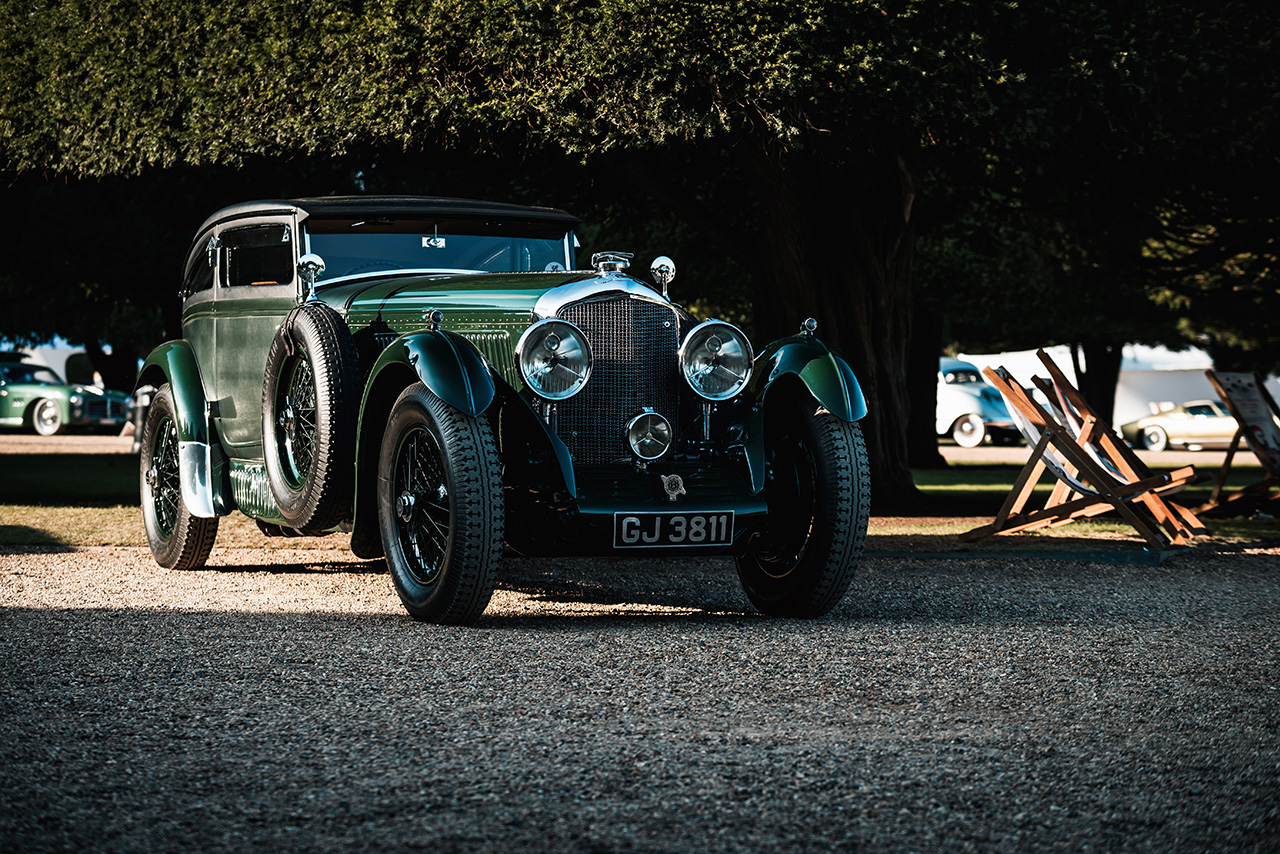 1930 Bentley Speed Six Gurney Nutting Sportsmans Coupe Blue Train